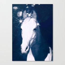Stars of Blue Canvas Print