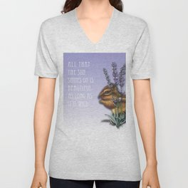 All That The Sun Shines On Is Beautiful As Long As It Is Wild Unisex V-Neck