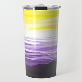Non Binary Sky Travel Mug