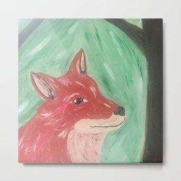 Red Fox - Acrylic Print Metal Print
