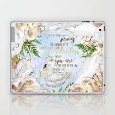 Daughter of the Forest - You Are What You Are Laptop & iPad Skin
