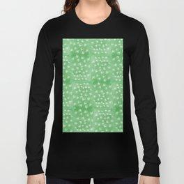 flakes of Pohutukawa- green Long Sleeve T-shirt