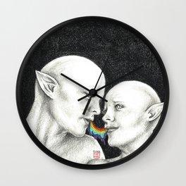 ~ Kiss Kiss ~ Wall Clock