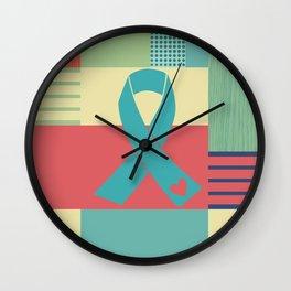 Teal It Wall Clock