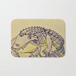 Grumpy Gator Bath Mat
