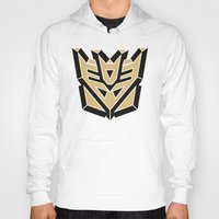 transformers Hoodies featuring Transformers by FilmsQuiz