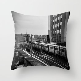 Septa Throw Pillow