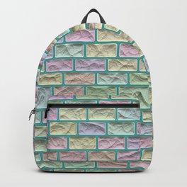 Unicorn Castle Pastel Bricks Backpack