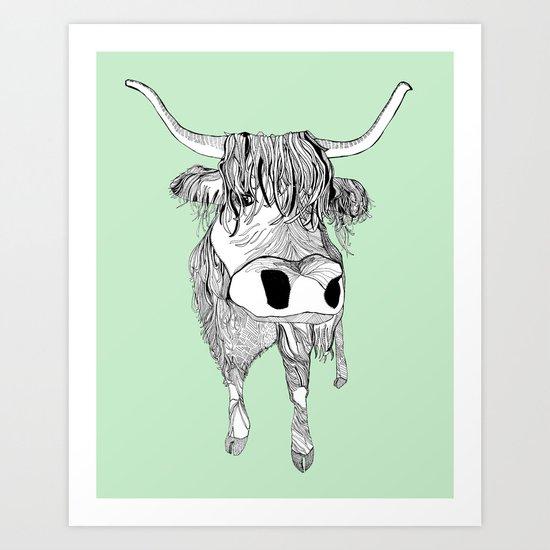 Highland Art Print