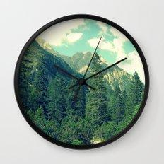 take the long way home Wall Clock