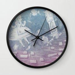 Tumbling Alice Wall Clock