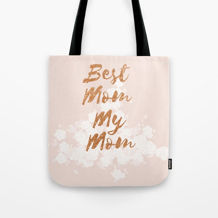 Best Mom My Mom on Thursday Tote Bag