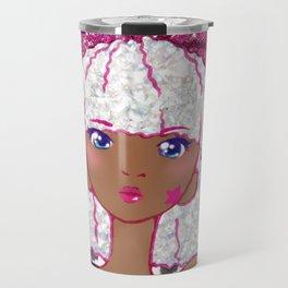 Cute Kawaii Glitter Diva LOL Doll Anime Fan Art Travel Mug
