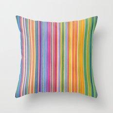STRIPES10 Throw Pillow