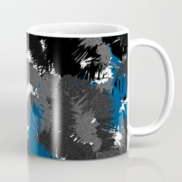 Wild cluster: blue Coffee Mug