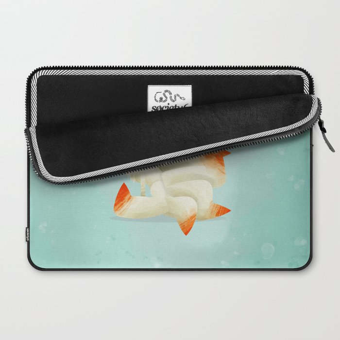038 Ninetales Laptop Sleeve