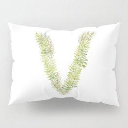 Initial V Pillow Sham
