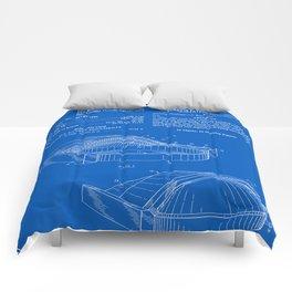 Stadium Patent - Blueprint Comforters