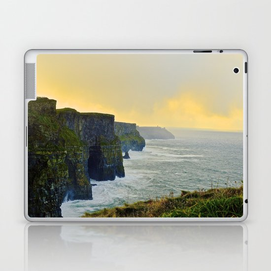 Cliffs of Moher Morning Laptop & iPad Skin