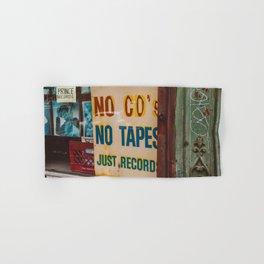 Just Records Hand & Bath Towel