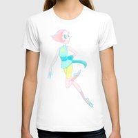 enerjax T-shirts featuring Pearl - Crystal Gems by enerjax