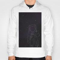 spaceman Hoodies featuring Spaceman by Julianne Ess