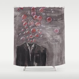 """Lifted Spirit"" Shower Curtain"