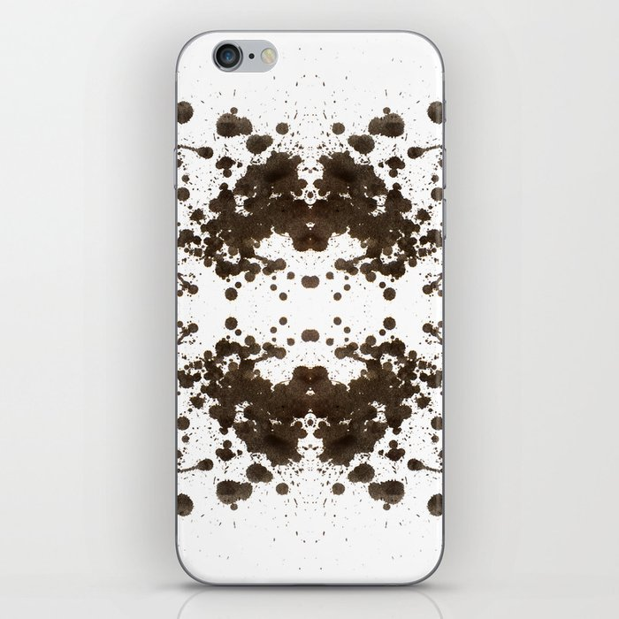 Symmetria Silver iPhone Skin