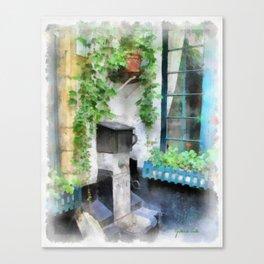 Vlaaiekensgang 6 - Antwerp Canvas Print
