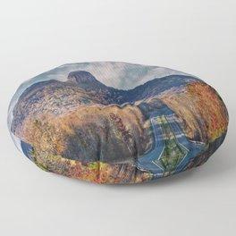 Pilot Mountain Floor Pillow