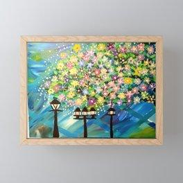 fun happy painting Framed Mini Art Print
