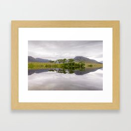Derryclare Lough Framed Art Print