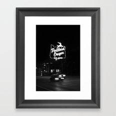 Portland BW Framed Art Print