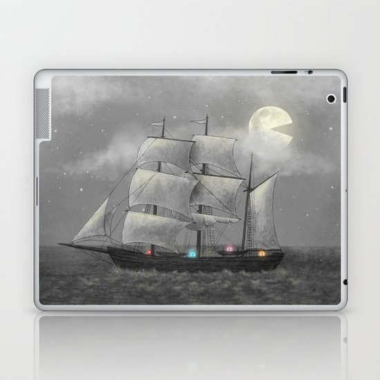 Ghost Ship  Laptop & iPad Skin