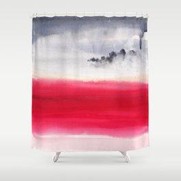 Martian bloom Shower Curtain
