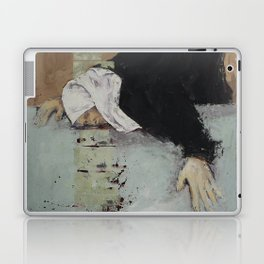 Woman in Black Laptop & iPad Skin
