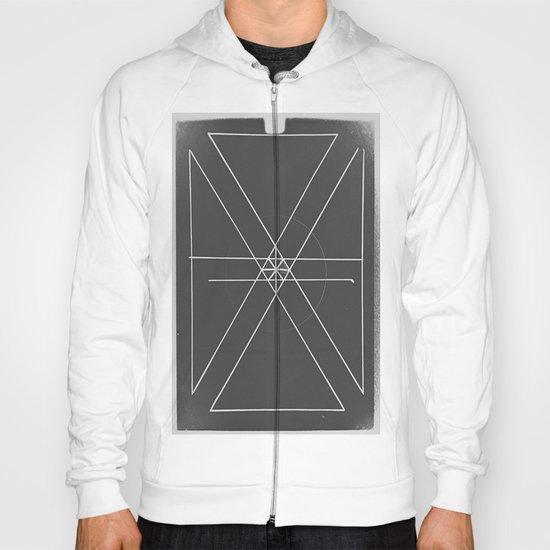 Gray Lines and Crossings Hoody