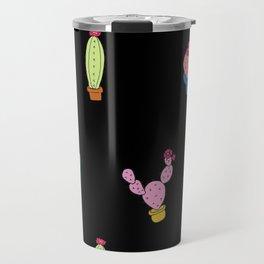Cacti Pattern Travel Mug