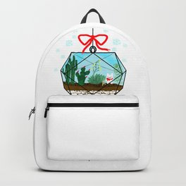 Cactus Terrarium Christmas Gift Backpack