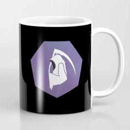Scout Badge on Black Coffee Mug