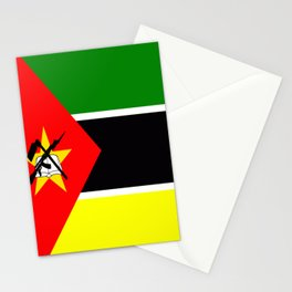 Flag of Mozambique Stationery Cards