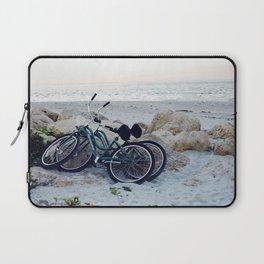 Captiva Island Bikes by Ocean Laptop Sleeve