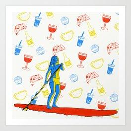 A balanced life Art Print