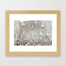 Crystals and Light Framed Art Print