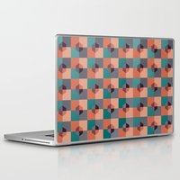 hexagon Laptop & iPad Skins featuring Hexagon Pattern by Distinct Design
