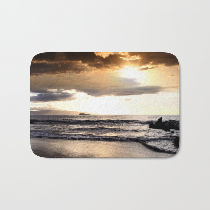 Rhythm of the Island Bath Mat