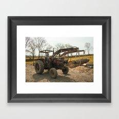 Massey 185    Framed Art Print