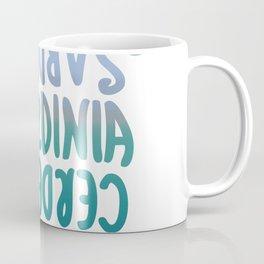 Sardegna, languages Coffee Mug