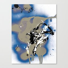 BAD MOON - SLIDE Canvas Print