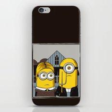 Minion Gothic iPhone & iPod Skin